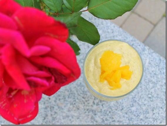 Mango Breakfast Smoothie