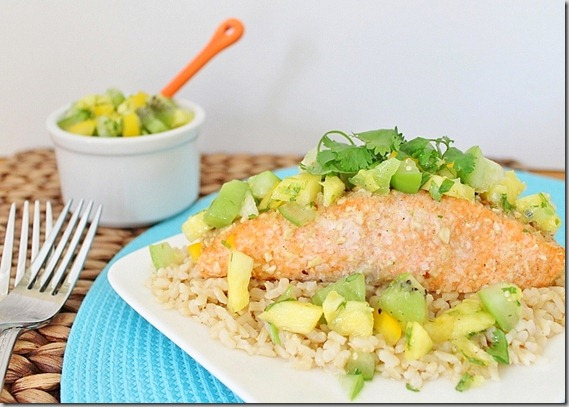 Coconut Crusted Salmon
