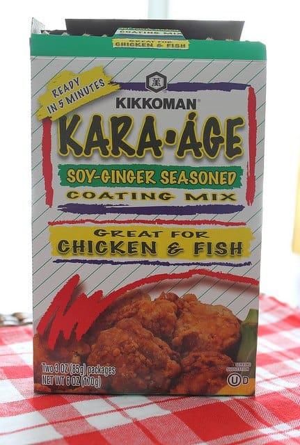 Kara age popcorn shrimp