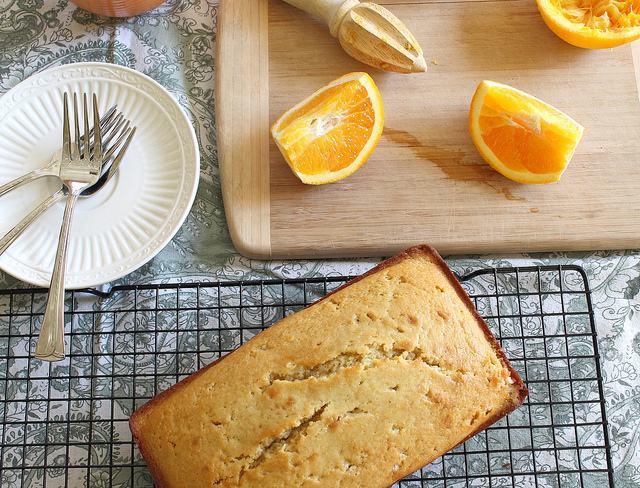 Orange Infused Pound Cake