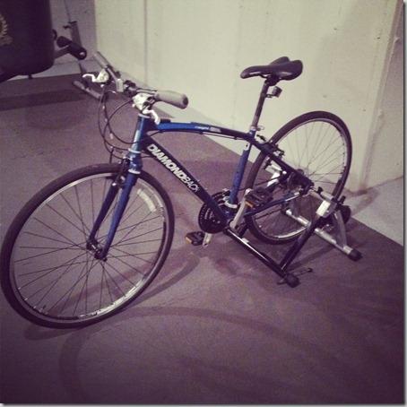 indoor bike stand