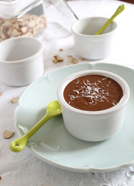 Chocolate almond butter with coconut