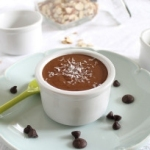 Chocolate coconut almond butter dip