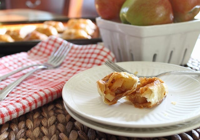 Hand pies with apple filling
