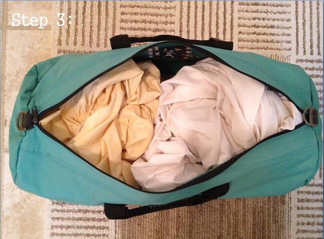 How to make a sandbag for working out and weight lifting