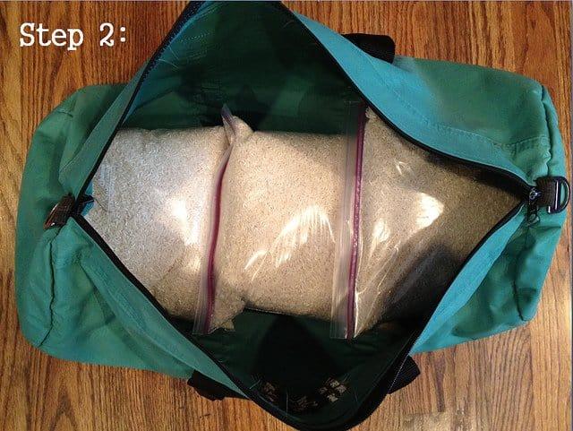 How to make a sandbag for workouts