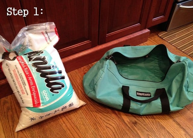 How to make a workout sandbag