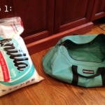 How to make a workout sandbag2