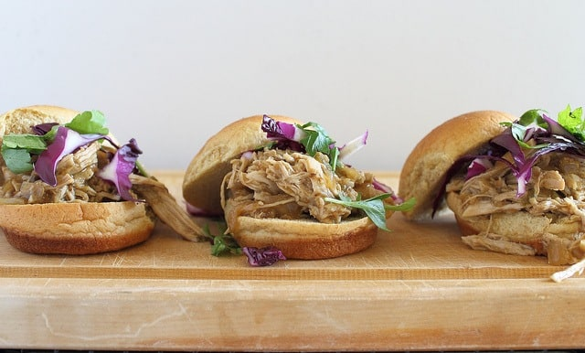 Mexican pulled pork sliders