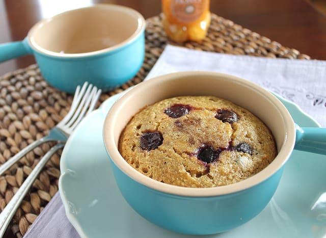 Cherry Almond Breakfast Bake