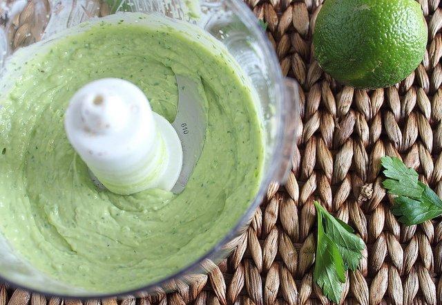 Jalapeno avocado sauce