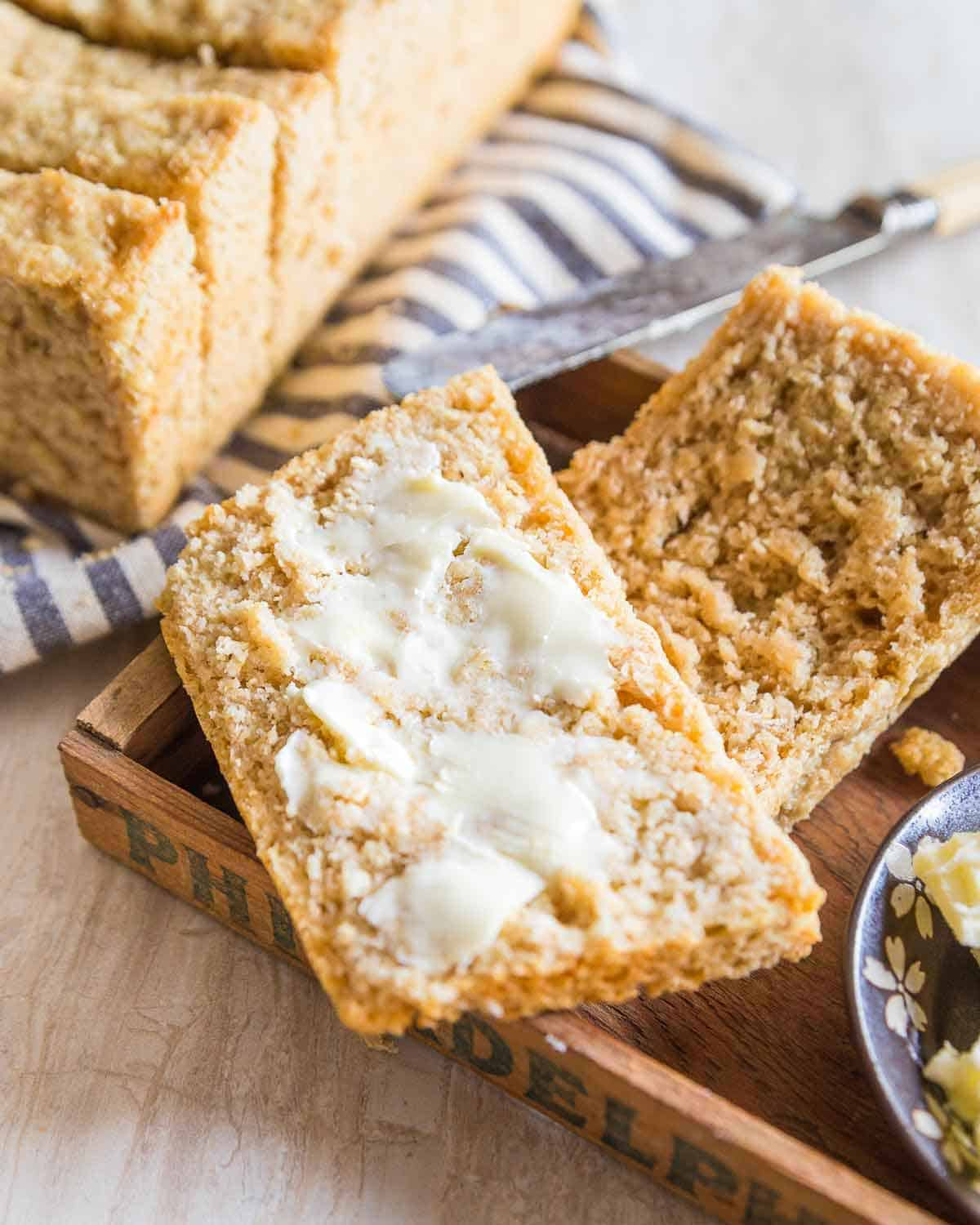 A from scratch oat bread recipe that's simple and delicious.