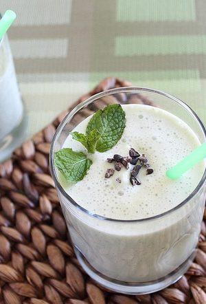 Shamrock smoothie