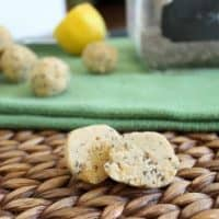 coconut lemon chia balls
