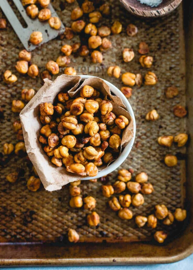 Cinnamon Toast Crunch Roasted Chickpeas