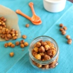 Cinnamon toast crunch roasted chickpeas