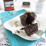 Single serving chocolate cake