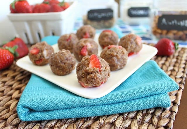 No bake strawberry cookies