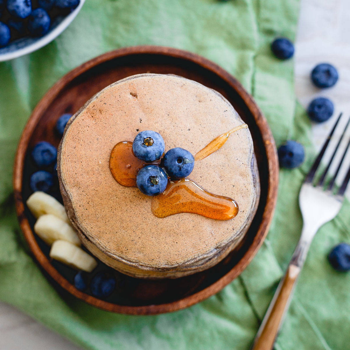 Start your day with a nutritionally complete meal with these perfect protein pancakes