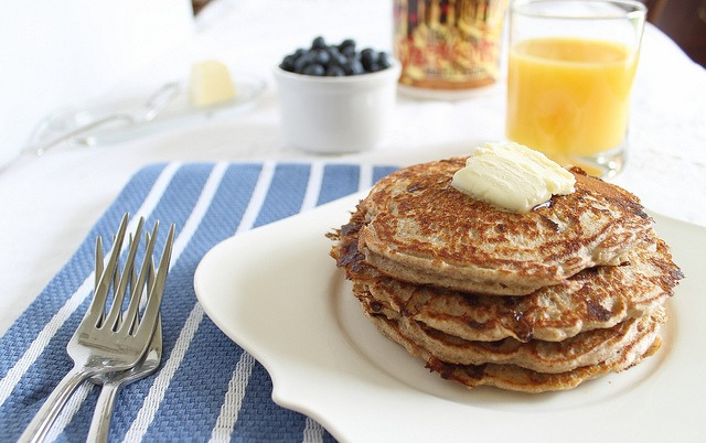 Perfect protein pancakes