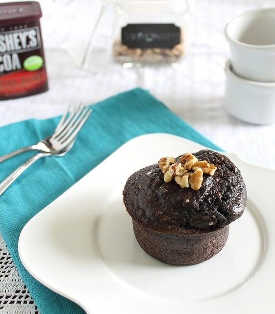 Single serving chocolate cake