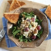 Healthy Tuna Waldorf Salad