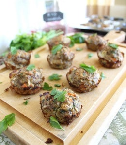 Turkey Quinoa Muffins