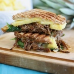 Carnitas pineapple panini