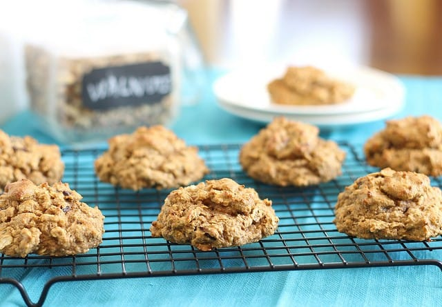 Cherry and almond protein cookies