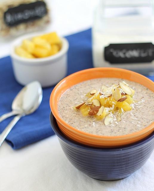 Overnight buckwheat oatmeal
