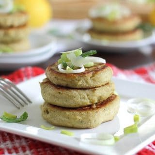 Rosemary cannellini cakes