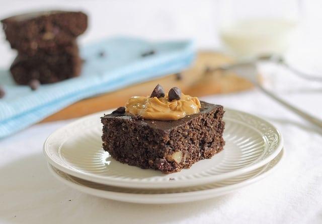 chocolate protein cake bars