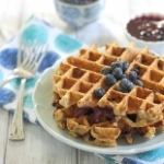 Blueberry-Waffles-155x190