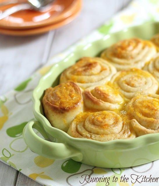 PW Wednesdays: Orange sweet rolls