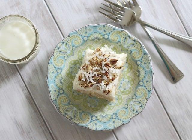 Pioneer Woman's Italian cream cake