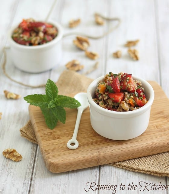 Strawberry Tabouleh