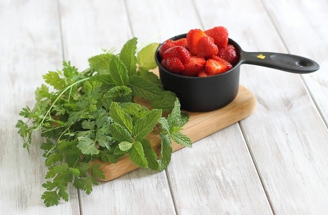 Strawberry Tabouleh