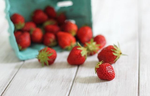 Strawberry couscous