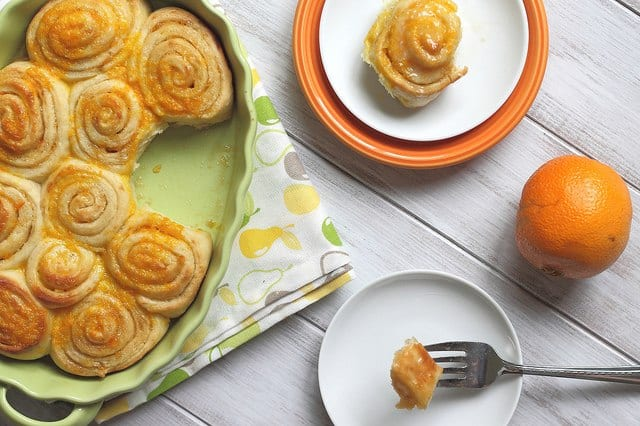 PW Wednesdays: Orange sweet rolls
