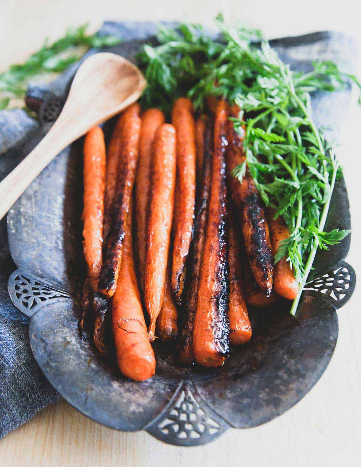Easy stove-top candied carrots make a delicious and simple side dish to any spring meal.