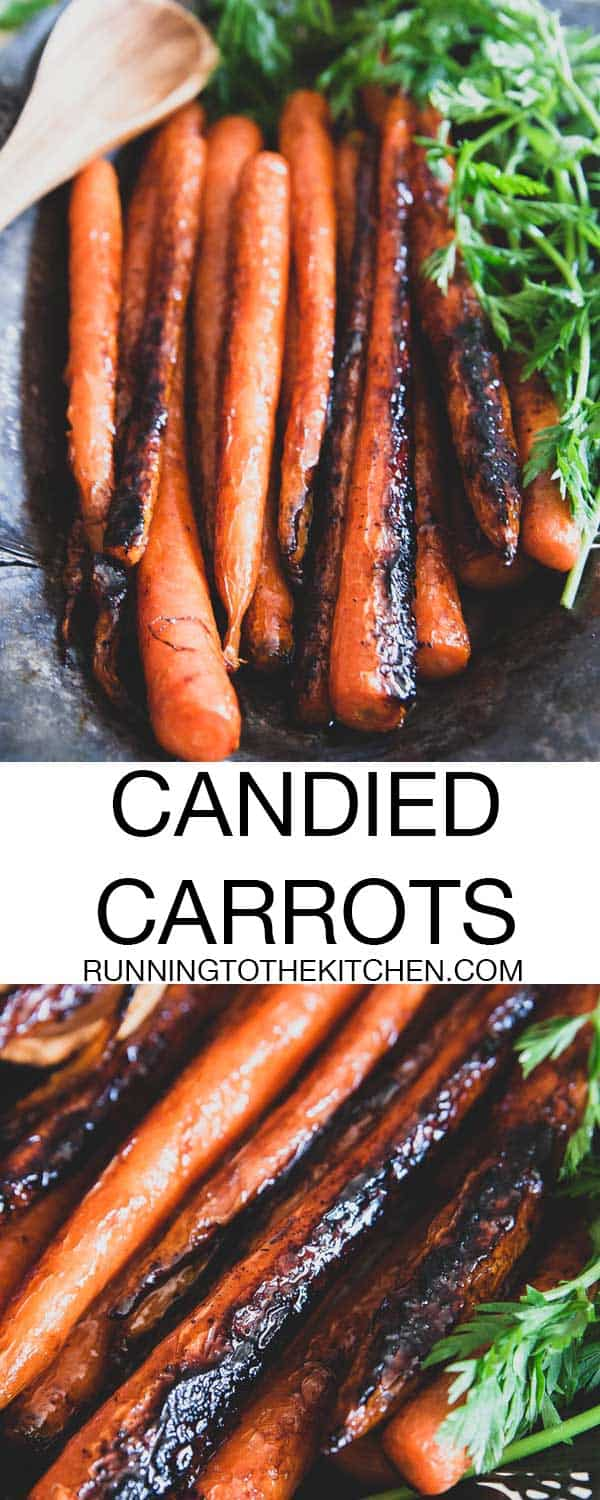 Simple candied carrots made with brown sugar and butter are ready in under 15 minutes and make a tasty side dish everyone will love.