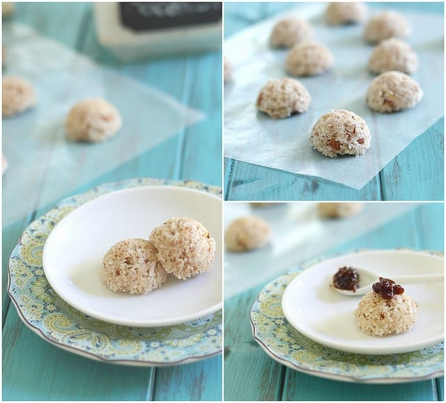 Coconut almond  macaroons