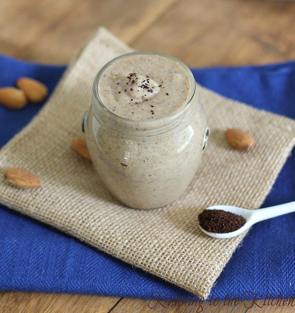 Java almond butter