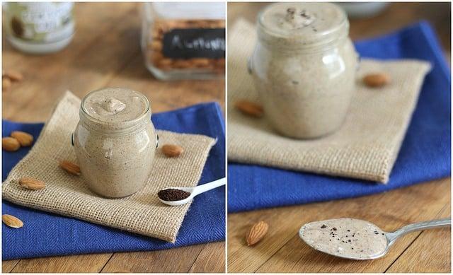 Java coffee almond butter