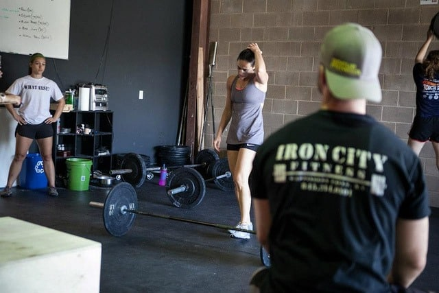 Fight Gone Bad - Crossfit