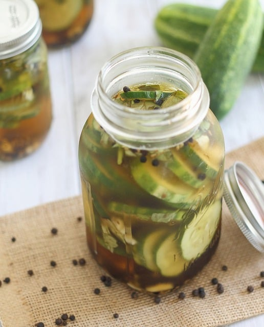 Make your own homemade pickles with this simple pickle recipe.