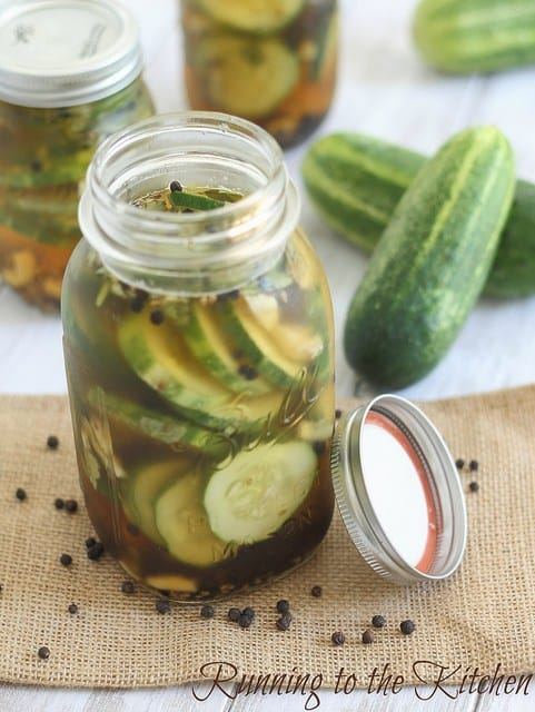 How to make simple homemade pickles.