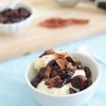 From bookmark to blog: Roasted Cherry Bacon Ice Cream