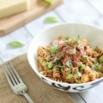 From bookmark to blog: trapenese pesto pasta
