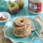 baked apple rings